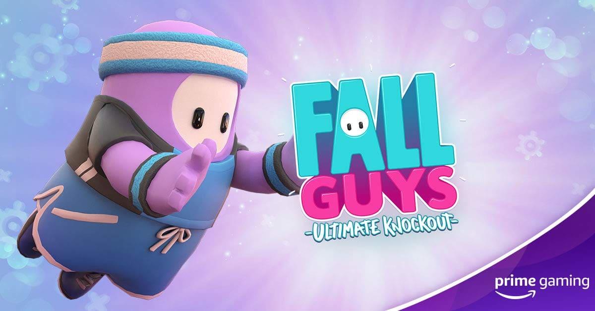 Pacote MVP de Fall Guys com o Prime Gaming