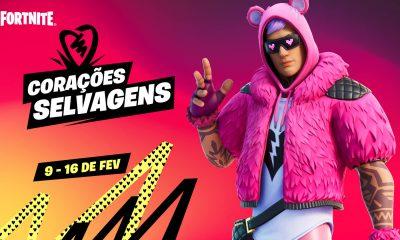 """Fortnite: Evento de Dia dos Namorados """"Corações Selvagens"""""""