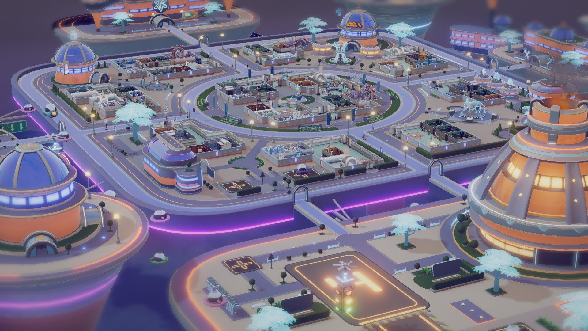 Two Point Hospital: Costura Temporal