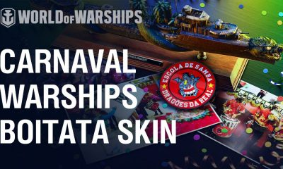 Carnaval no World of Warships
