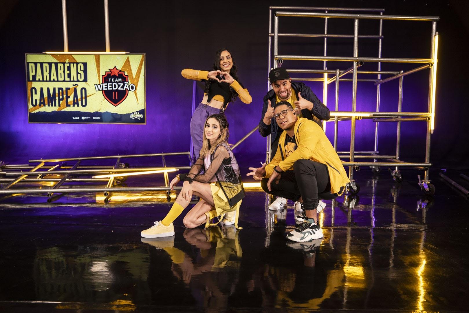 A final da Season 5 contou com narração e apresentação dos caster Camila Brandão, Luisa Saro, Cabelo e Samuca