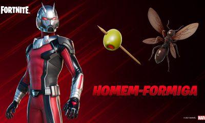 Homem-Formiga em Fortnite