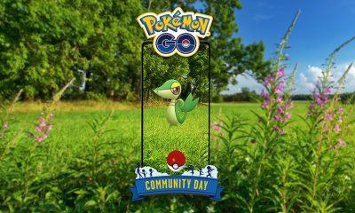 Dia Comunitário de Pokémon GO terá Snivy