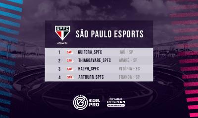 São Paulo Esports no eGOL PRO