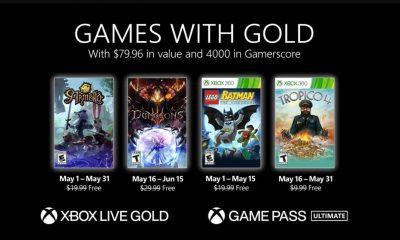 Xbox Games with Gold de maio