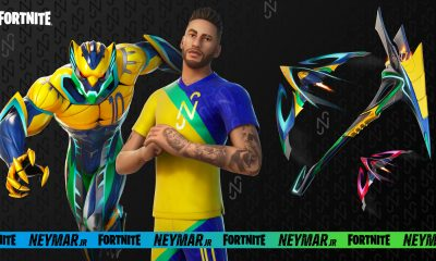 Neymar em Fortnite