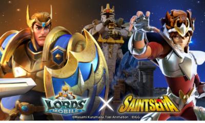 Lords Mobile e Os Cavaleiros do Zodíaco