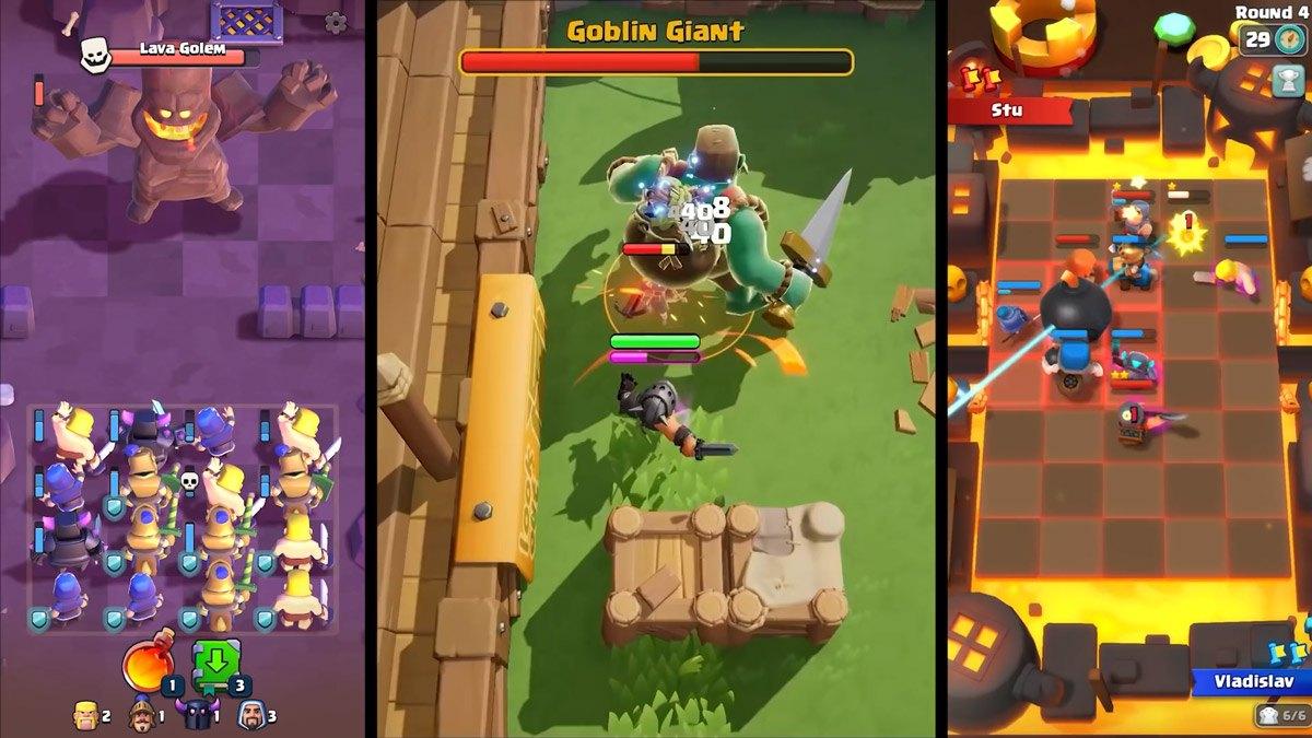 Clash Mini, Clash Heroes e Clash Quest