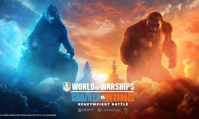 Godzilla e Kong em World of Warships!